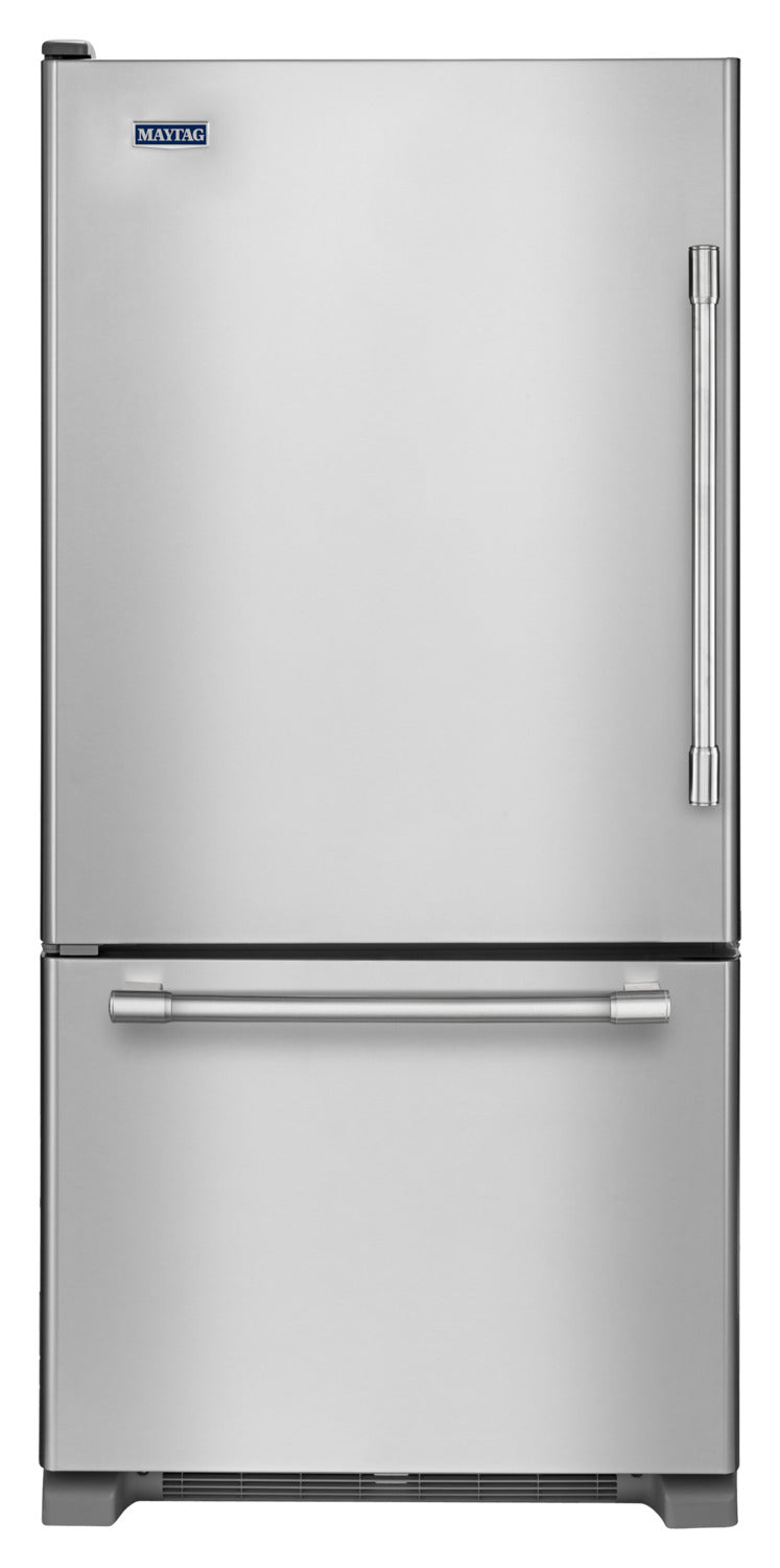 Maytag Stainless Steel Bottom-Freezer Refrigerator (18.6 Cu. Ft.) - MBL1957FEZ