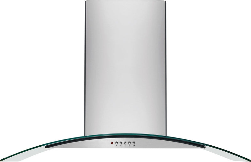 "Frigidaire Stainless Steel and Glass 36"" 400 CFM Wall-Mount Canopy Range Hood - FHWC3660LS"