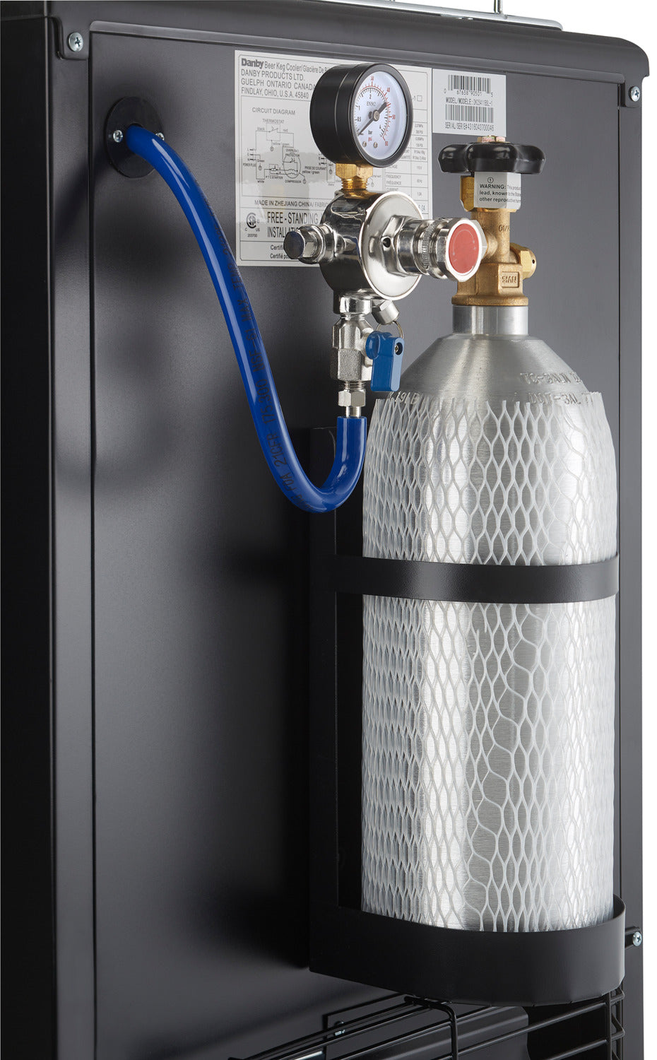 Danby Silver Single Tap Keg Cooler 54 Cu Ft Dkc054a1bsldb Wiring Diagram For Beer Previous Next