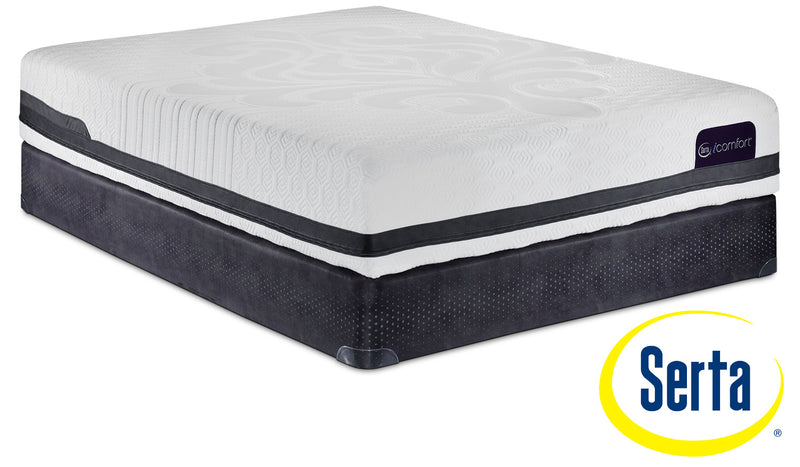 Serta iComfort Eco Peacefulness Plush Twin XL Mattress and Boxspring Set