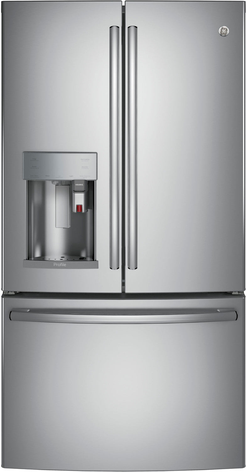 GE Profile Stainless Steel French Door Refrigerator (22.1 Cu. Ft.) - PYE22PSKSS