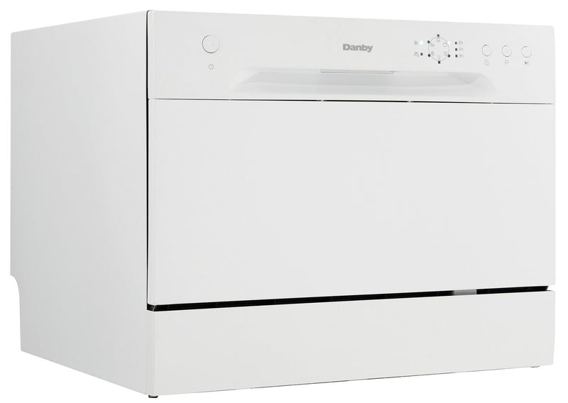 "Danby White Countertop 21.7"" Dishwasher - DDW621WDB"