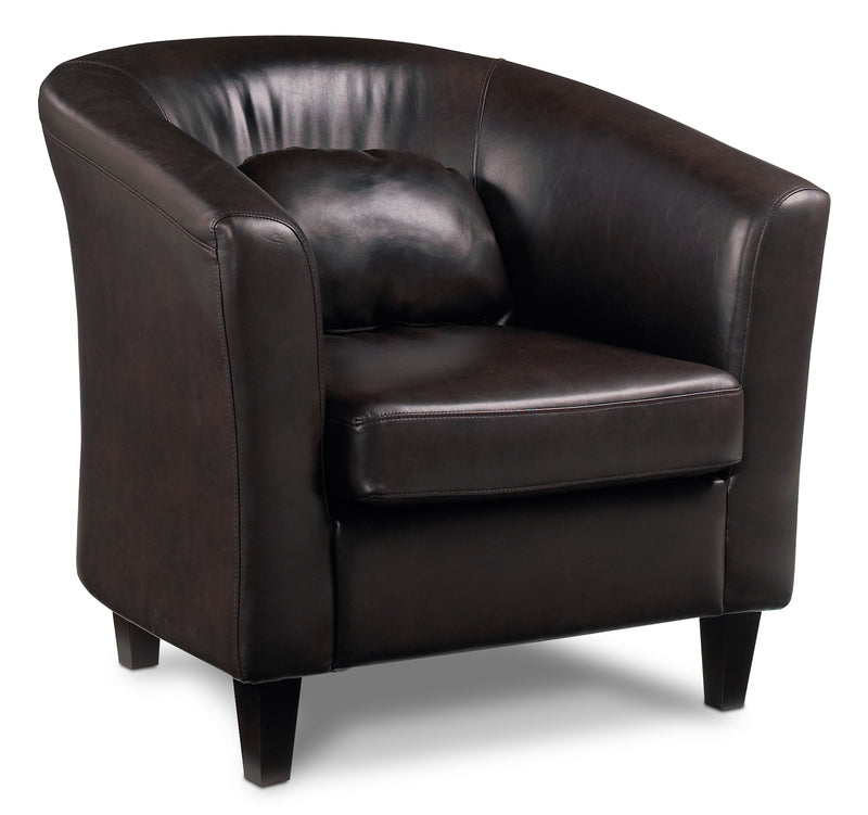 Jolly Accent Chair - Dark Chocolate