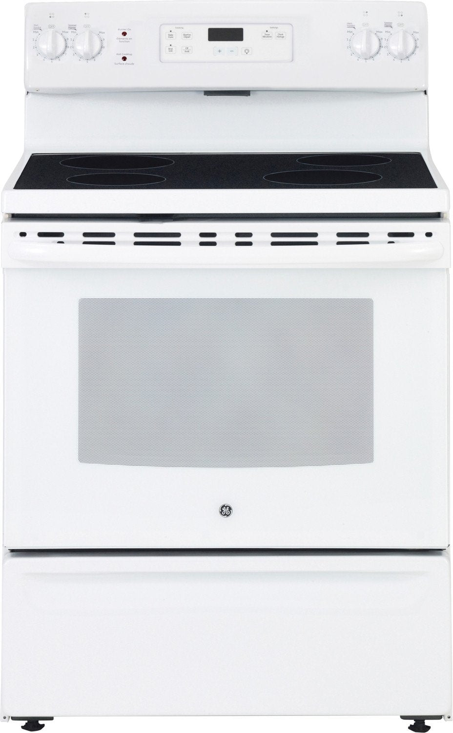 white electric range. Hover To Zoom White Electric Range