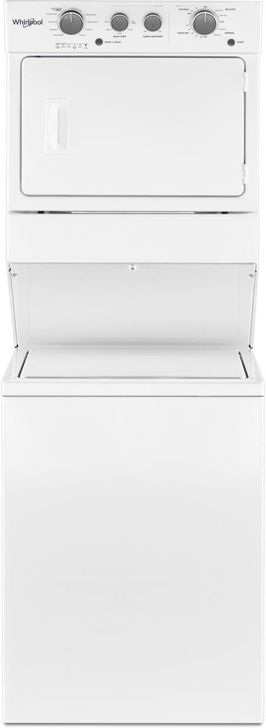 Whirlpool White Gas Laundry Centre - WGT4027HW