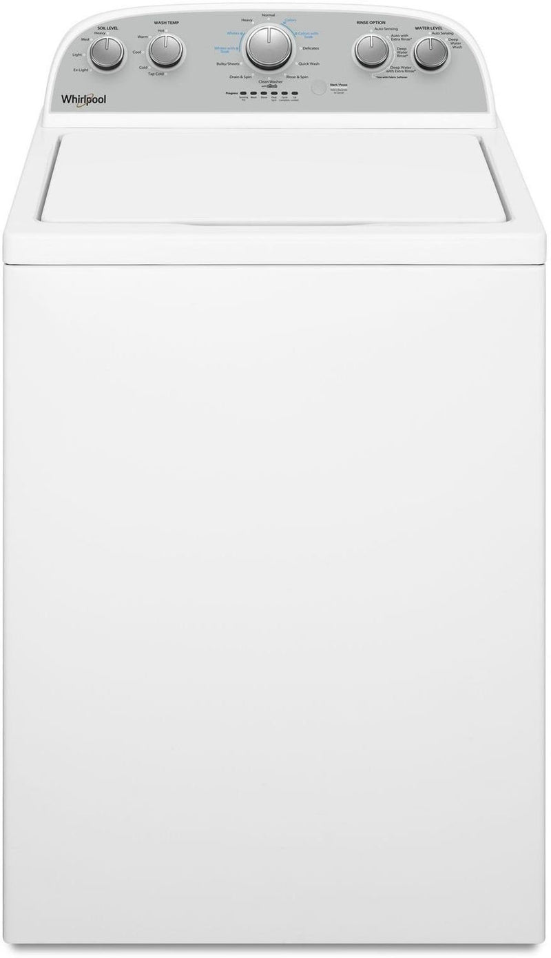 Whirlpool White Top-Load Washer (4.5 Cu. Ft. IEC) - WTW4950HW