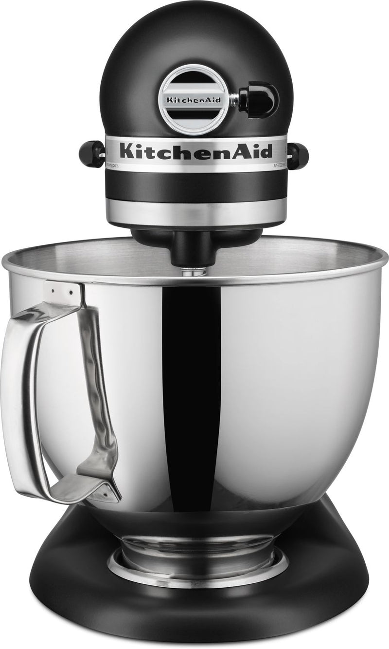 KitchenAid Matte Black 5-Quart Tilt-Head Stand Mixer - KSM150PSBM