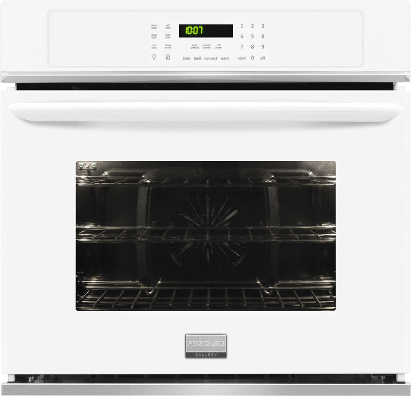 Frigidaire Gallery White Electric Wall Oven (3.8 Cu. Ft.) - FGEW2765PW
