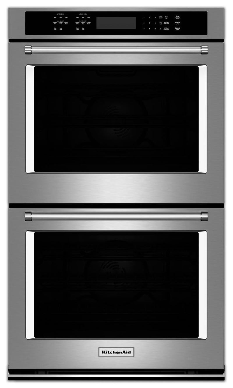 KitchenAid Stainless Steel Convection Double Wall Oven (8.6 Cu. Ft.) - KODE507ESS