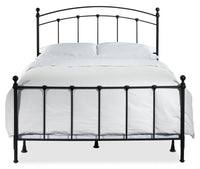 Sanford Full Bed - Dark Grey