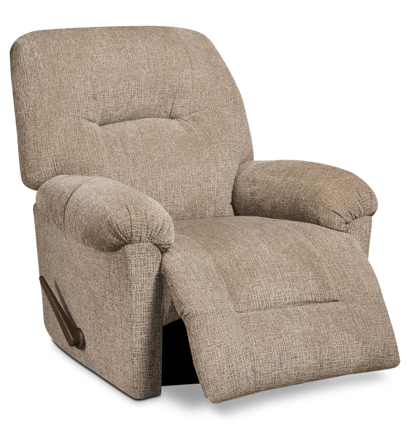 Celo Rocker Recliner - Light Brown