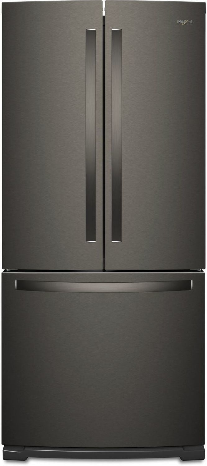 Whirlpool Black Stainless Steel French Door Refrigerator (20 Cu. Ft.) - WRF560SMHV