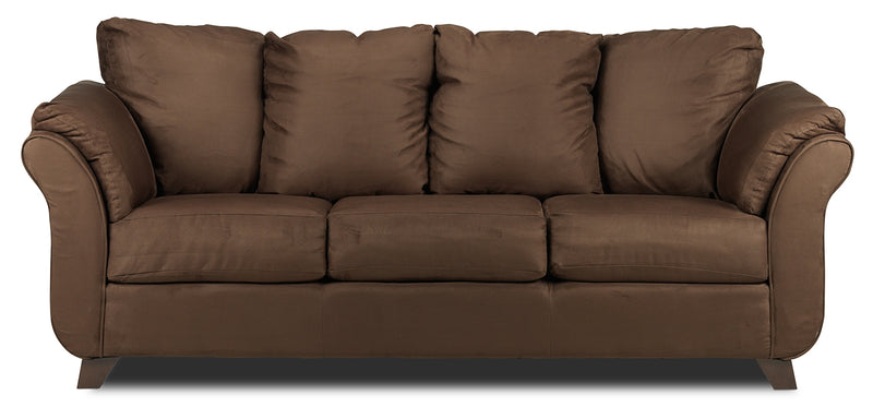 Collier Sofa   Chocolate