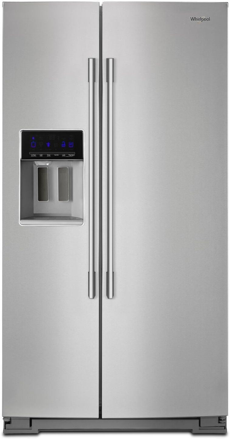 Whirlpool Stainless Steel Side-by-Side Refrigerator (28 Cu. Ft.) - WRSA88FIHZ