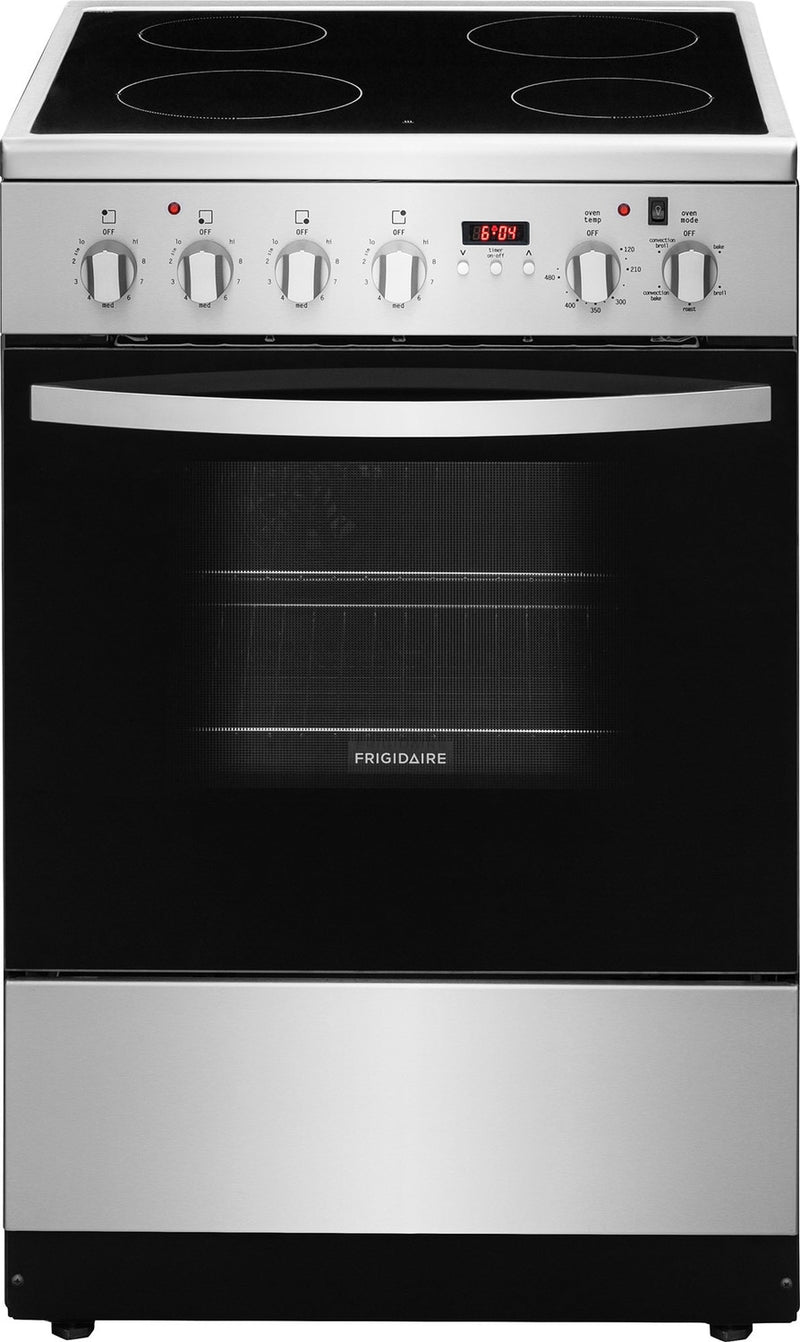 Frigidaire Stainless Steel Freestanding Electric Convection Range (1.9 Cu. Ft.) - CFEF2422RS