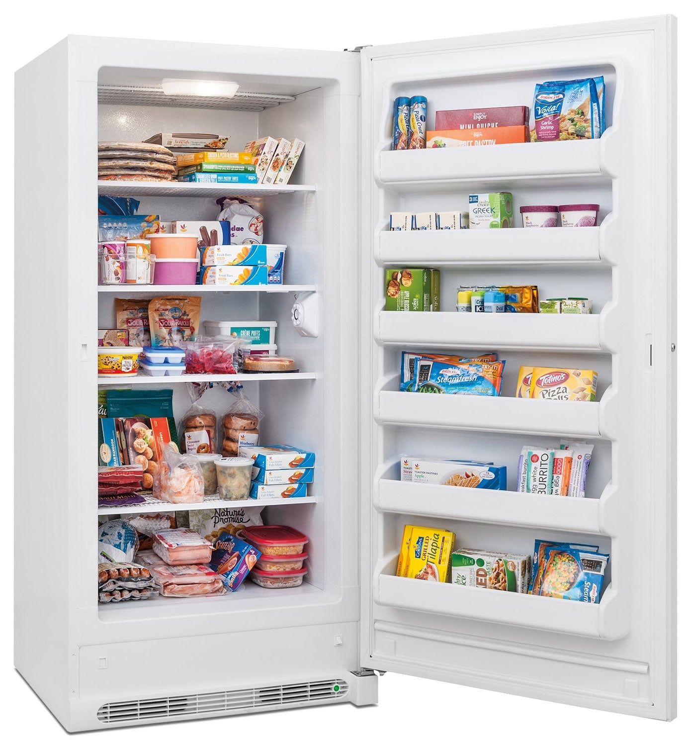 Frigidaire White Upright Freezer 20 9 Cu Ft