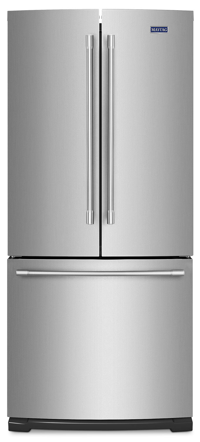Image of Maytag Stainless Steel French Door Refrigerator (19.6 Cu. Ft.) - MFB2055FRZ