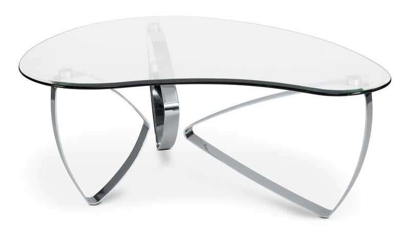 Nico Coffee Table - Chrome