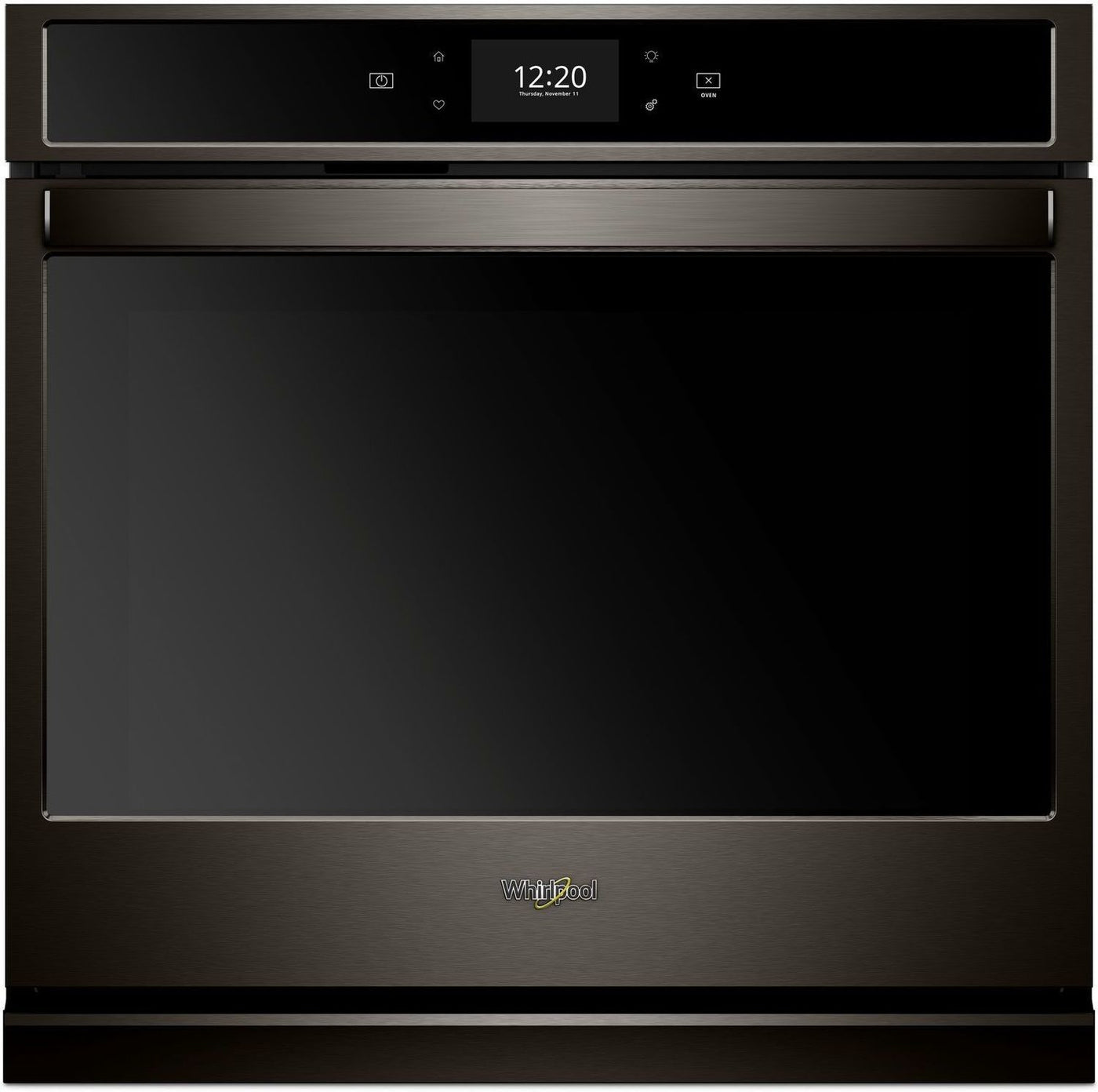 Whirlpool Black Stainless Steel Electric True Convection