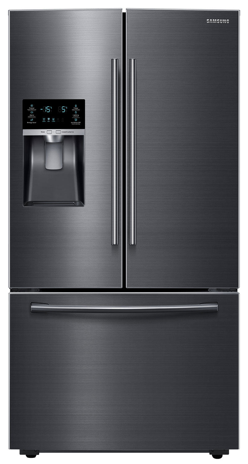 Samsung Black Stainless Steel French Door Refrigerator 28 Cu Ft