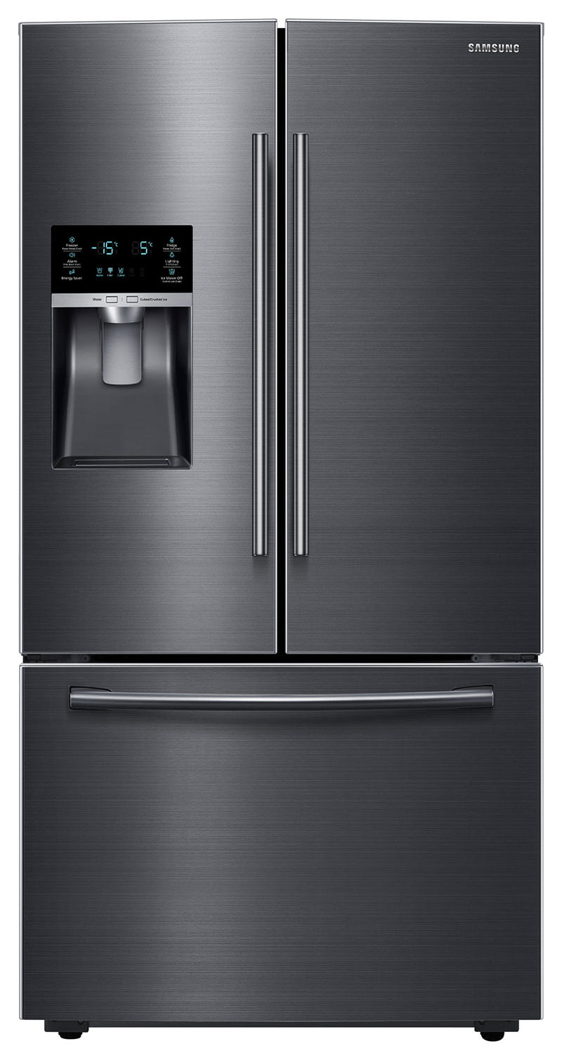 Samsung Black Stainless Steel French Door Refrigerator (28 Cu. Ft.) - RF28HFEDBSG/AA