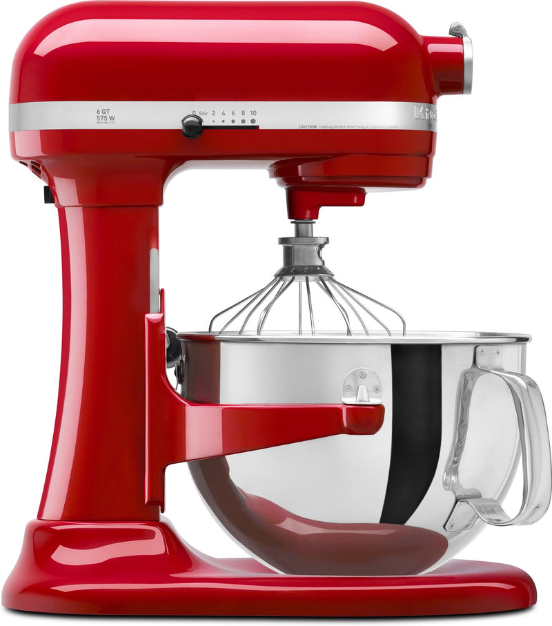 KitchenAid Empire Red 6-Quart Bowl-Lift Stand Mixer - KP26M1XER