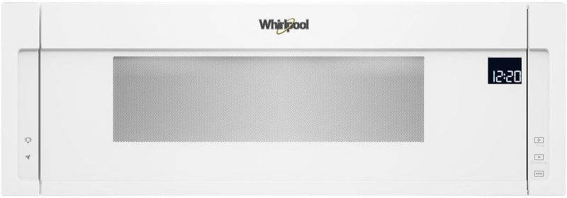 Whirlpool White Over-the-Range Microwave and Hood Combination (1.1 Cu. Ft.) - YWML75011HW