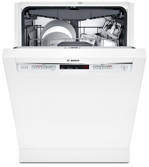 "Bosch White 24"" Dishwasher - SHEM63W52N"