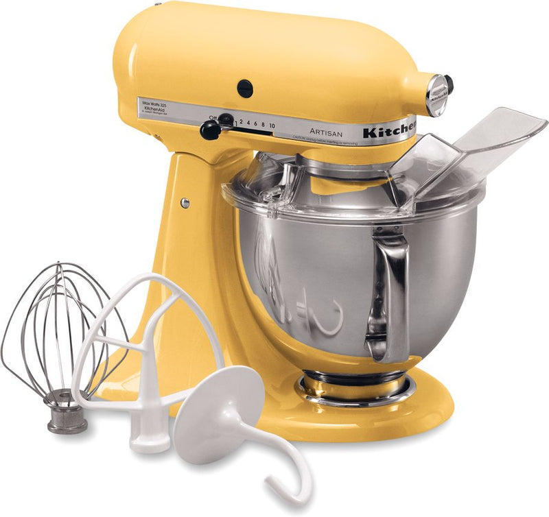 KitchenAid Majestic Yellow 5-Quart Tilt-Head Stand Mixer - KSM150PSMY