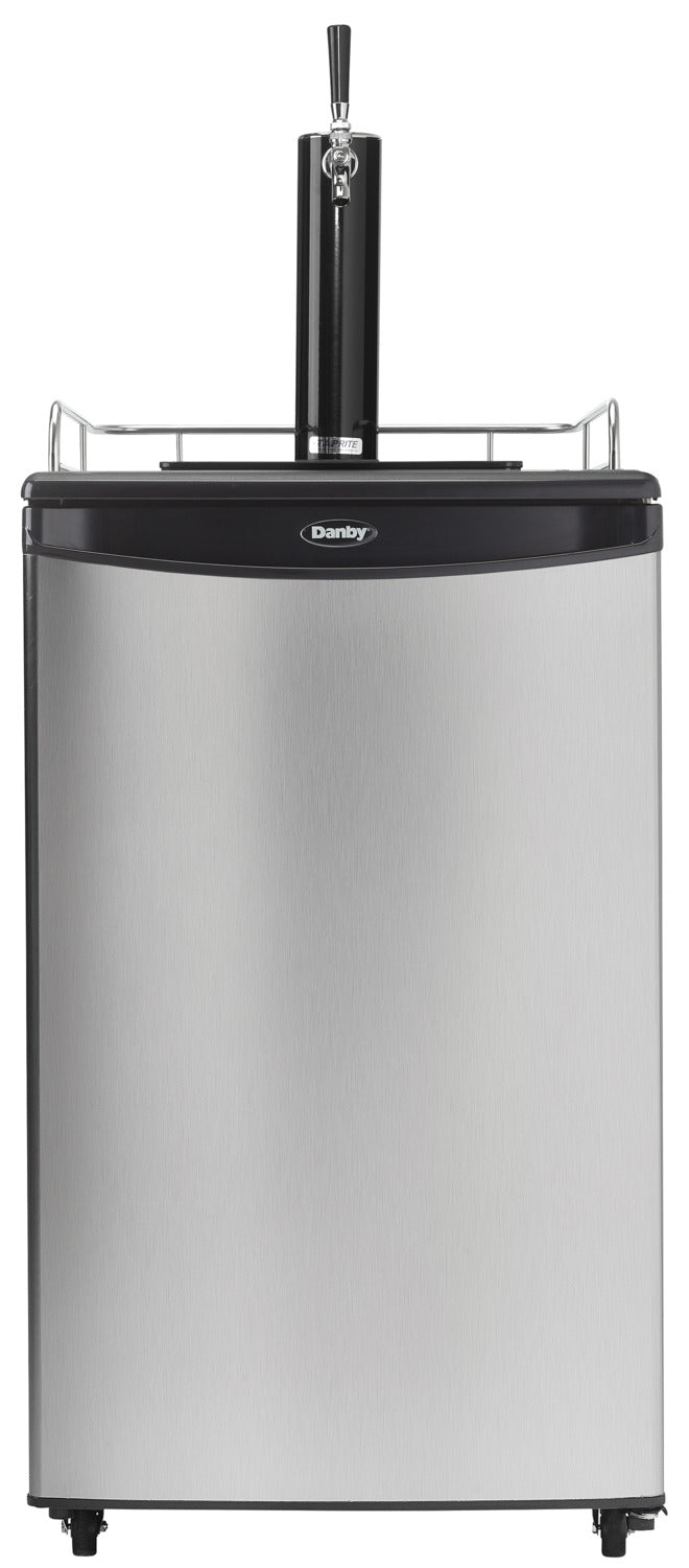 Danby Silver Single Tap Keg Cooler (5.4 Cu. Ft.) - DKC054A1BSLDB
