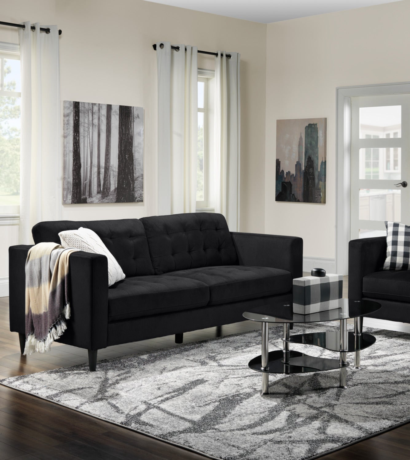 Anthena sofa charcoal touch to zoom