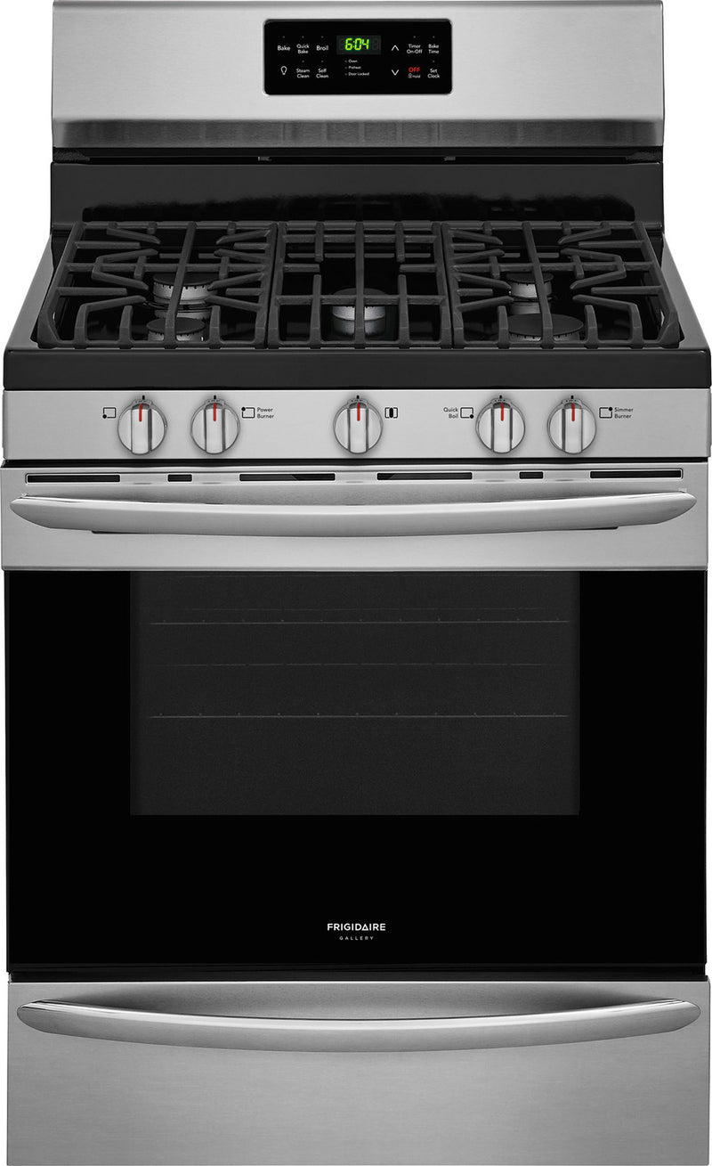 Frigidaire Gallery Stainless Steel Freestanding Gas Range (5.0 Cu. Ft.) - FGGF3036TF