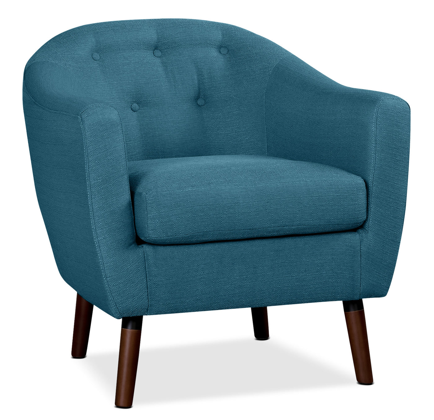 Blue Modern Accent Chairs.Zia Accent Chair Blue