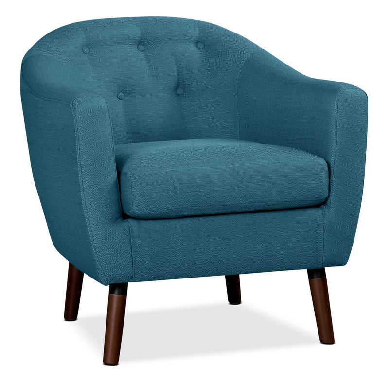 Zia Accent Chair - Blue