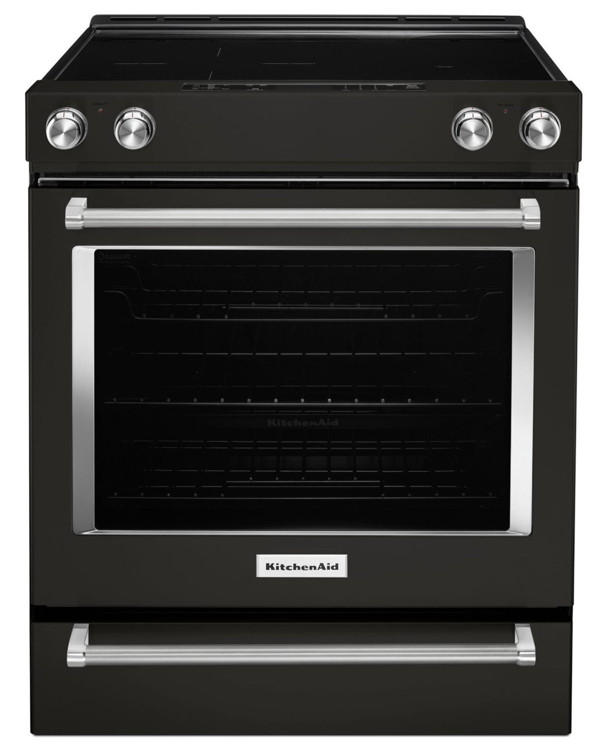 """KitchenAid Black Stainless Steel Slide-In Electric Convection Range on hoover electric ranges, full stainless steel electric ranges, miele electric ranges, jenn-air electric ranges, magic chef electric ranges, kitchenaid professional ranges, sub-zero electric ranges, cleaning smooth top electric ranges, haier electric ranges, kitchenaid pro style ranges, sears electric ranges, lowe's kitchen appliances ranges, hotpoint electric ranges, inglis electric ranges, speed queen electric ranges, best electric ranges, general electric electric ranges, danby electric ranges, discontinued kitchenaid ranges, 30"""" freestanding ranges,"""