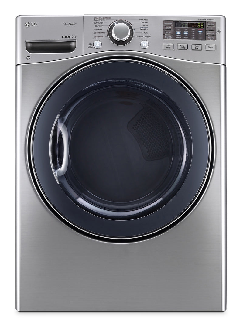 LG Appliances Graphite Steel Electric Dryer (7.4 Cu. Ft.) - DLEX3570V