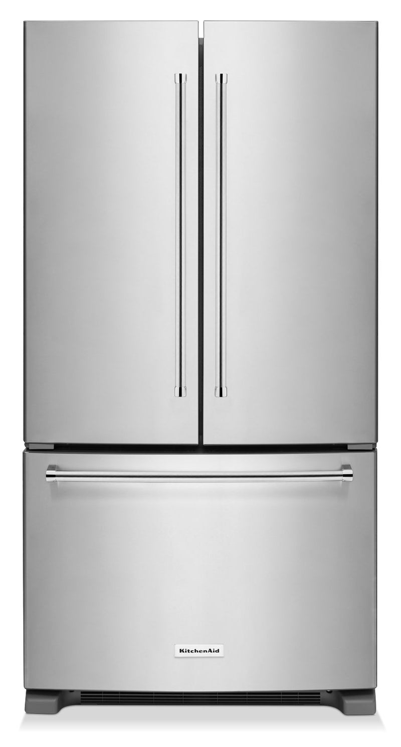 KitchenAid Stainless Steel French Door Refrigerator (25 Cu. Ft.) - KRFF305ESS