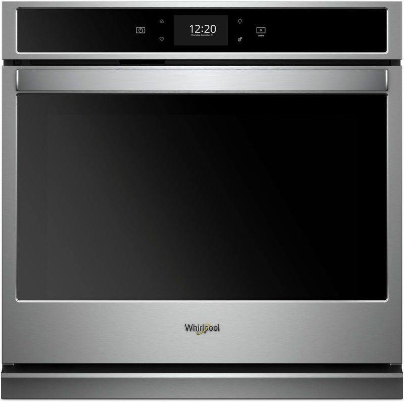 Whirlpool Stainless Steel Electric True Convection Wall Oven (5.0 Cu. Ft.) - WOS72EC0HS
