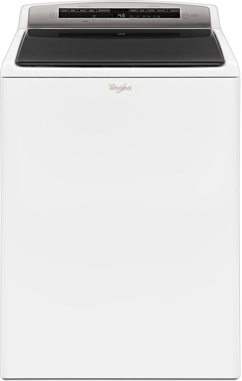 Whirlpool White Top-Load Washer (5.5 Cu. Ft. IEC) - WTW7500GW