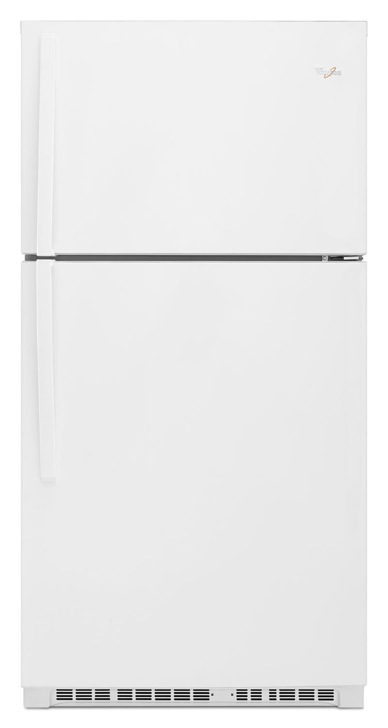 Whirlpool White Top-Freezer Refrigerator (21.3 Cu. Ft.) - WRT541SZDW