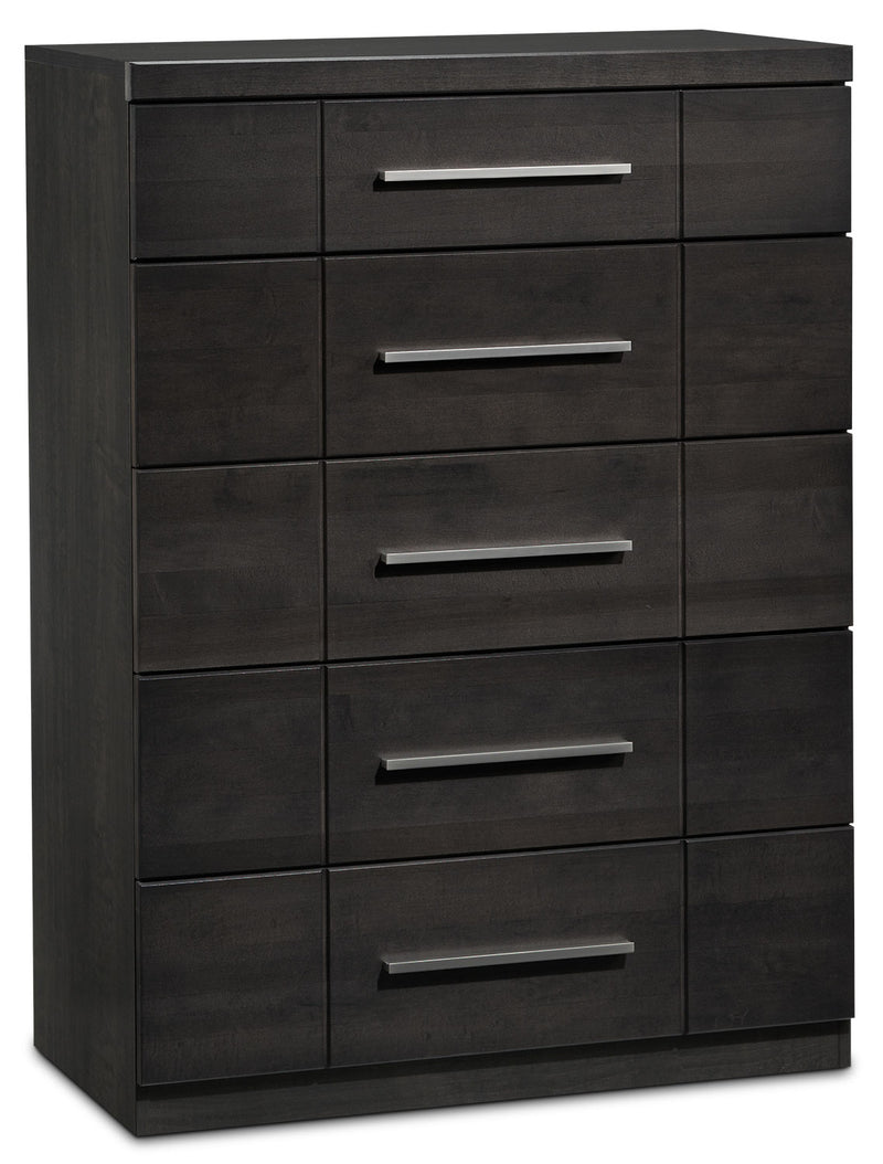 Seville 6-Drawer Chest - Charcoal