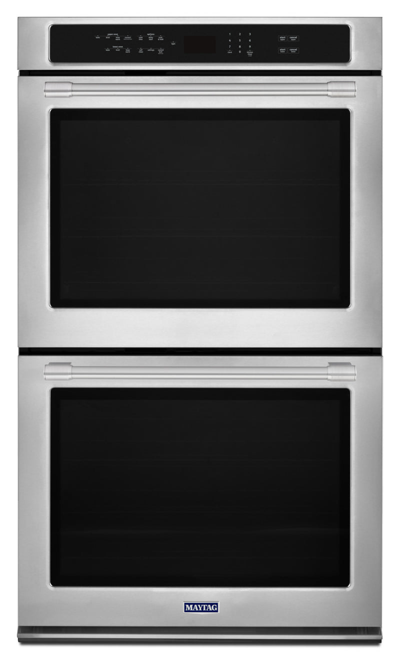 Maytag Stainless Steel Electric Convection Double Wall Oven (8.6 Cu. Ft.) - MEW9627FZ