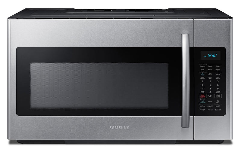 Samsung Stainless Steel Over-the-Range Microwave (1.8 Cu. Ft.) - ME18H704SFS/AC