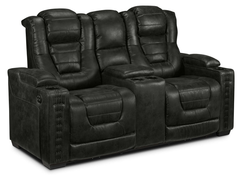 Dakota Power Reclining Loveseat - Eclipse
