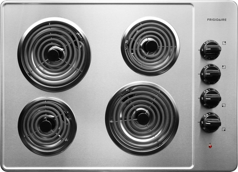"Frigidaire Stainless Steel 30"" Electric Coil Cooktop - FFEC3005LS"