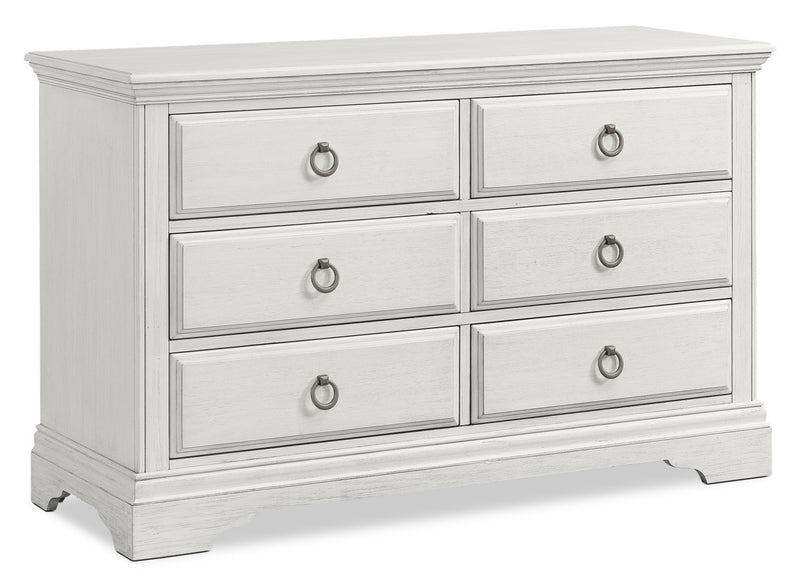 Riley Dresser - Brushed White