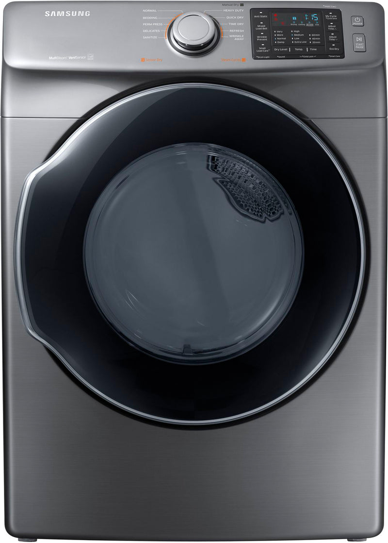 Samsung Platinum Gas Dryer (7.5 Cu. Ft.) - DVG45M5500P/A3