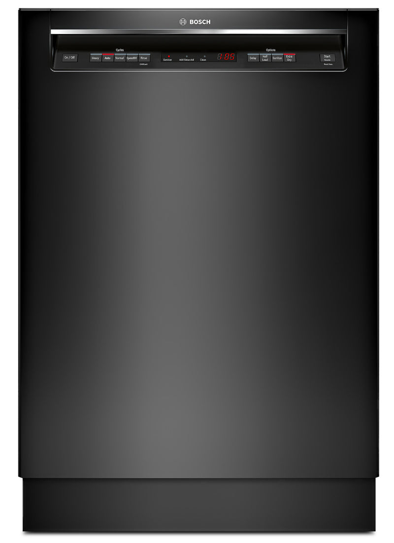 "Bosch Black 24"" Dishwasher - SHEM63W56N"