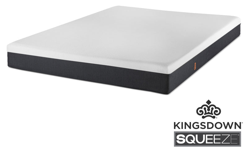 "Kingsdown Squeeze Twin XL 7"" Mattress-in-a-Box"