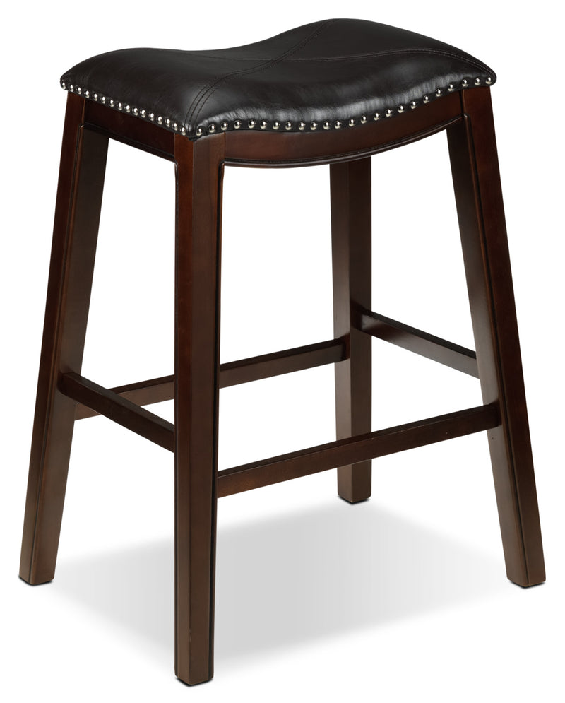 Texas Pub-Height Stool - Brown